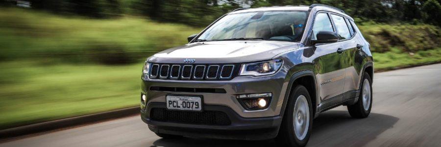 melhores pneus para Jeep Compass